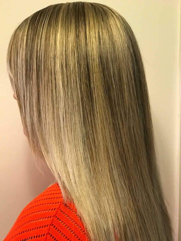 Colour Work Creative Combination Hairstyle
